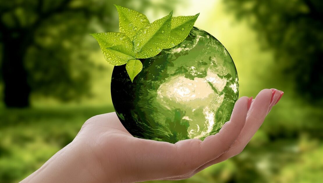 recycling makes the world greener
