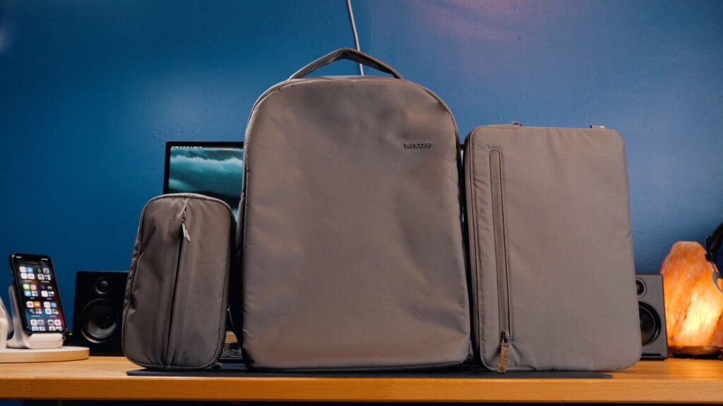 backpacks made from recycled plastics