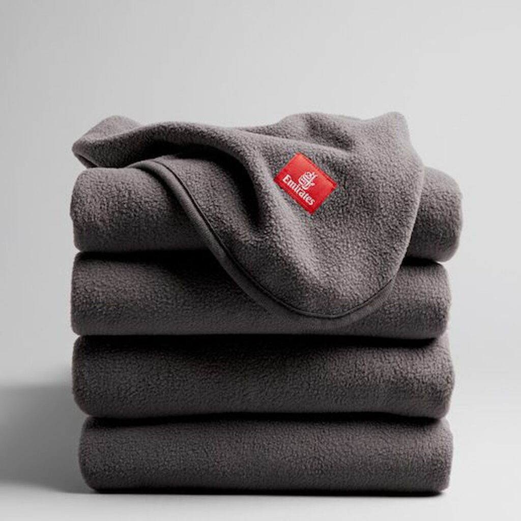 Blankets from 100% recycled plastic
