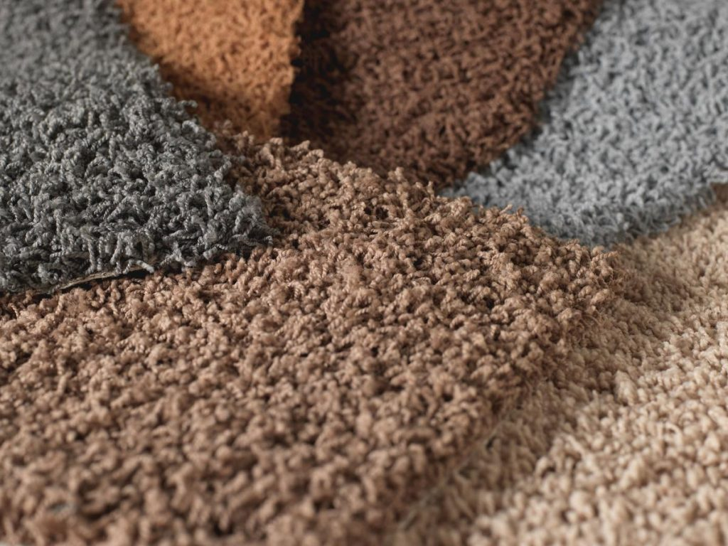Carpets from plastic